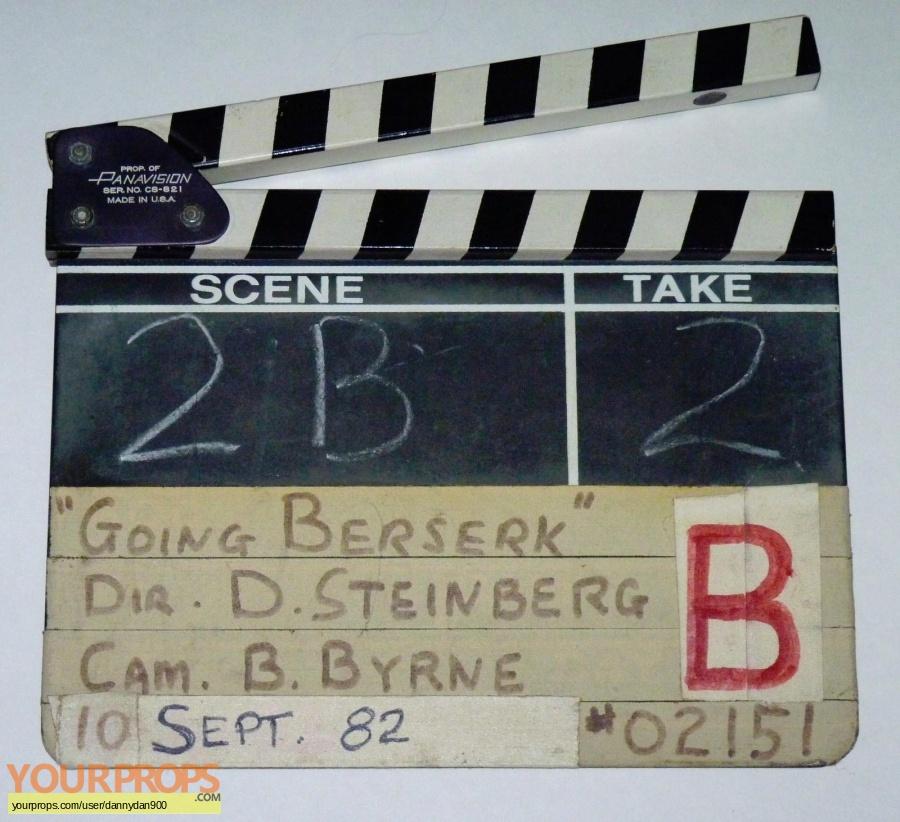 Going Berserk original production material