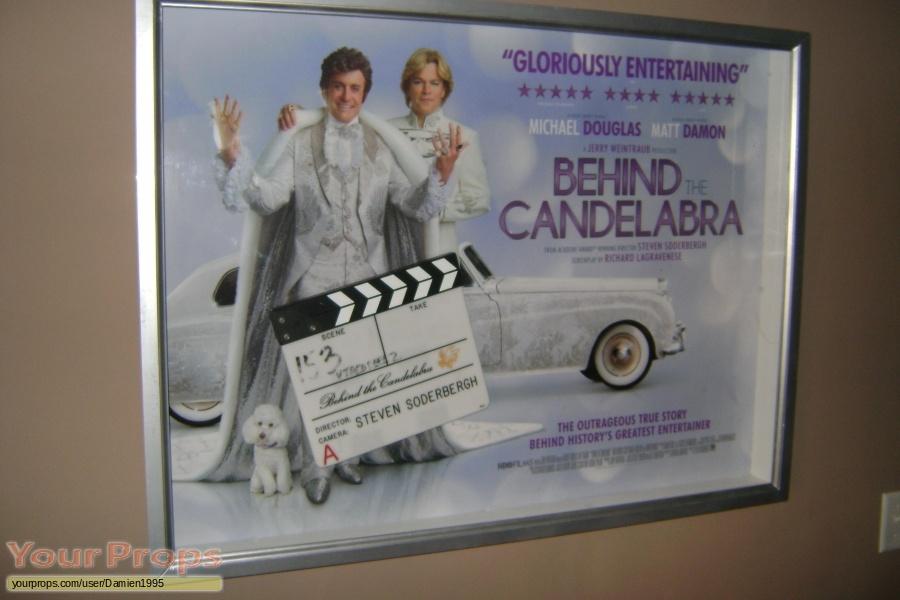 Behind the Candelabra original film-crew items