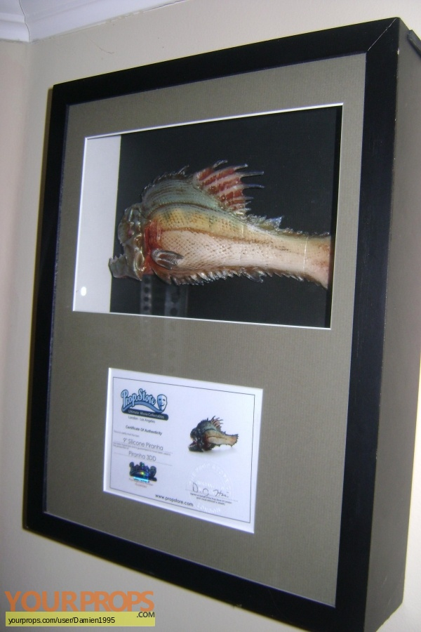 Piranha 3DD original movie prop