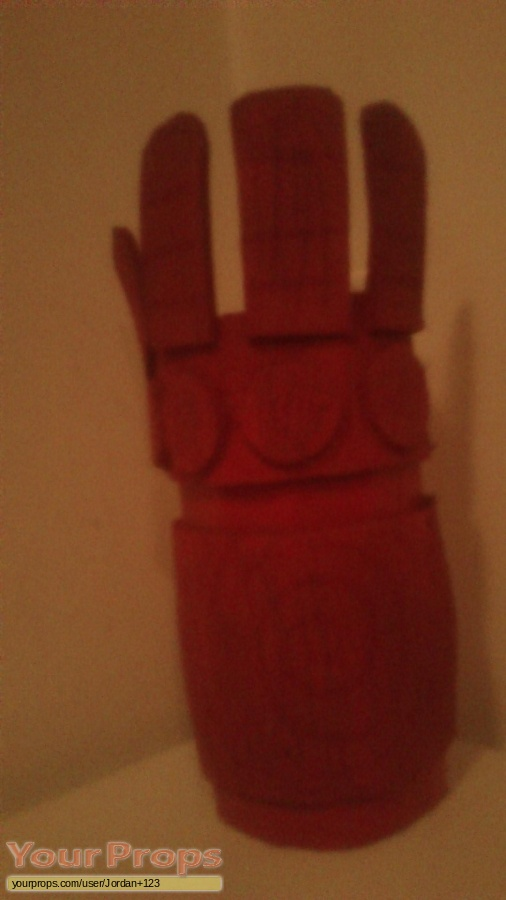 Hellboy made from scratch movie prop