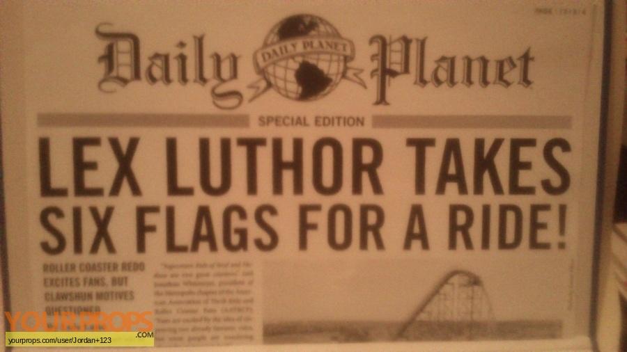 Superman Returns replica movie prop