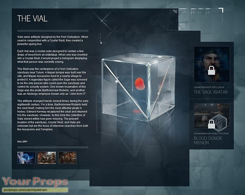 Assassins Creed IV Black Flag (video game) replica movie prop