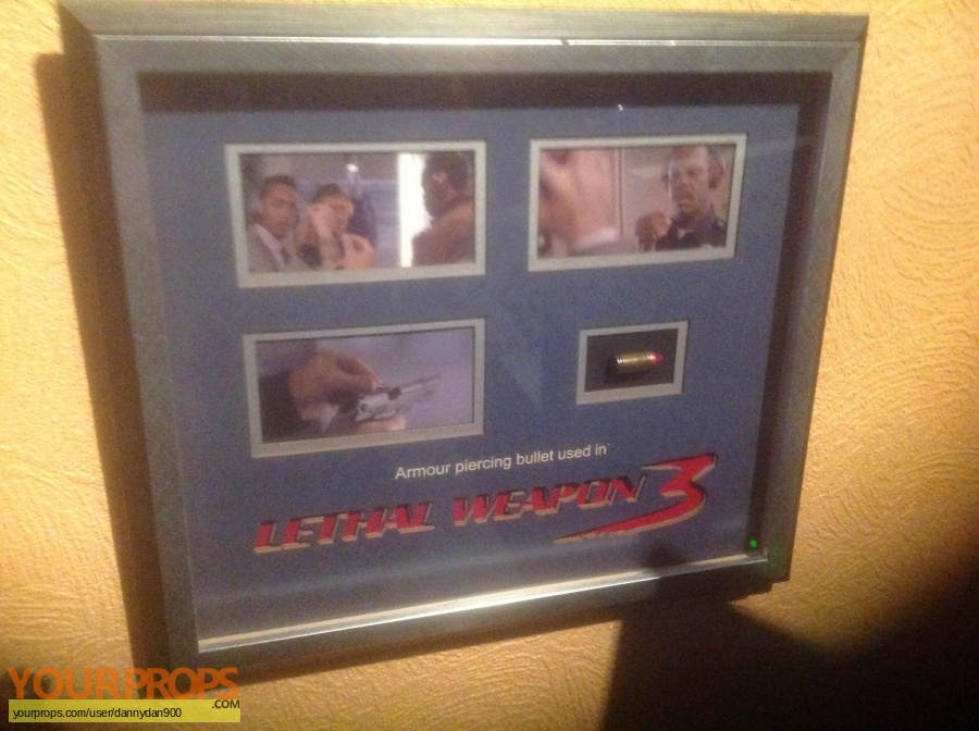 Lethal Weapon 3 original movie prop