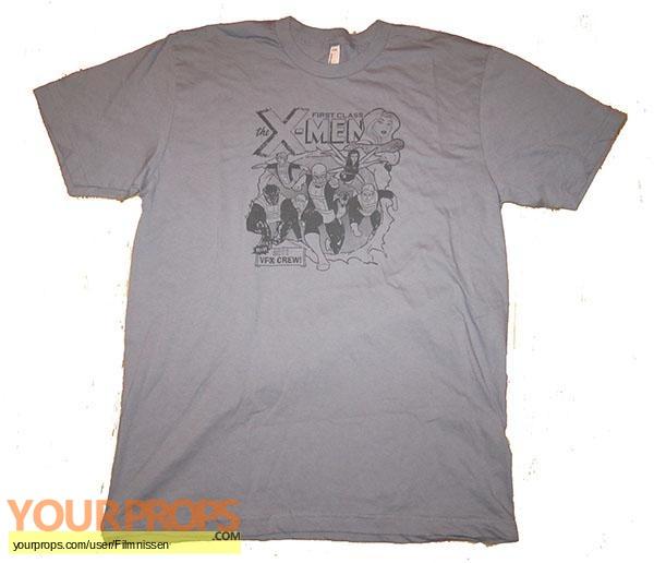 X-Men  First Class original film-crew items