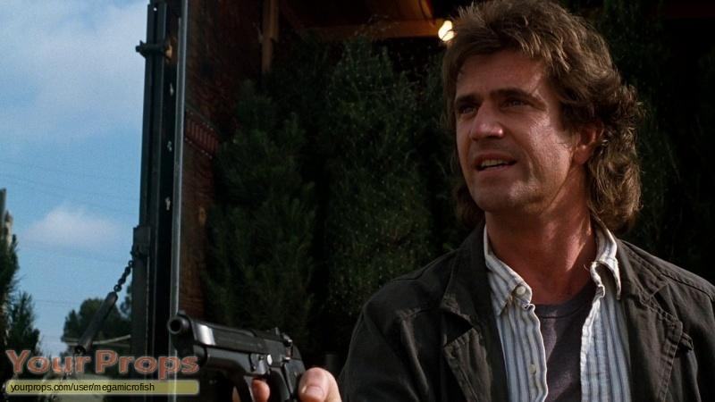 Lethal Weapon replica movie prop weapon