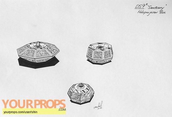 Star Trek  Deep Space Nine original production artwork