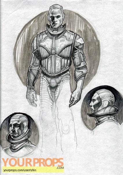 Red Planet original production artwork