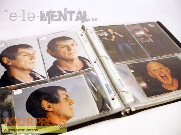Star Trek  Nemesis original production material