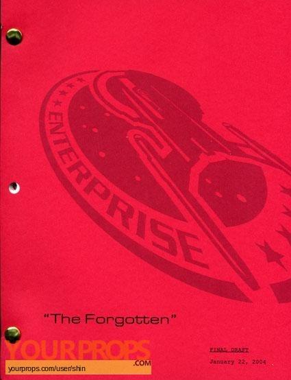 Star Trek  Enterprise original production material