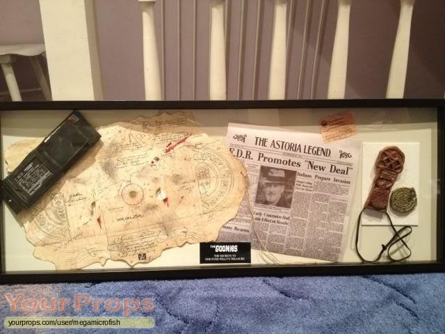 The Goonies replica movie prop