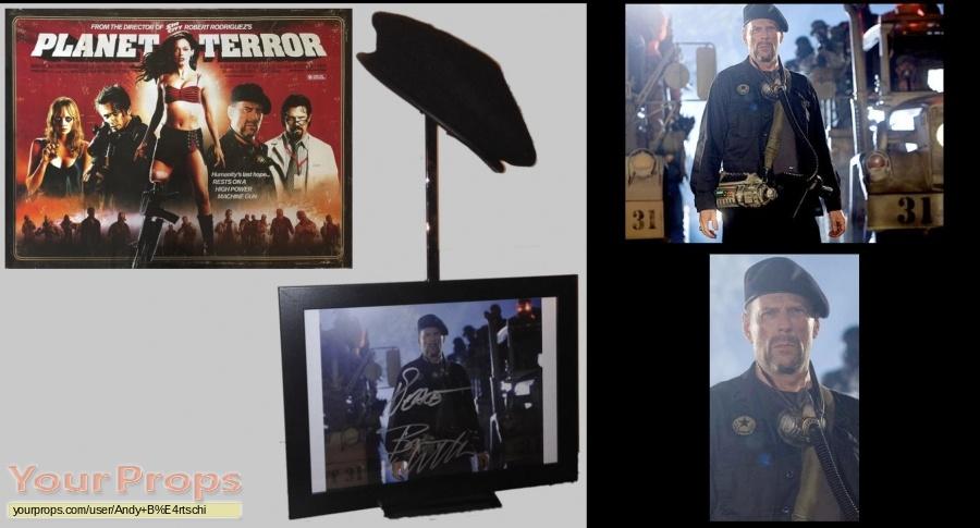 Planet Terror original movie prop