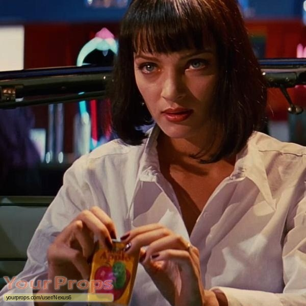Pulp Fiction made from scratch set dressing   pieces