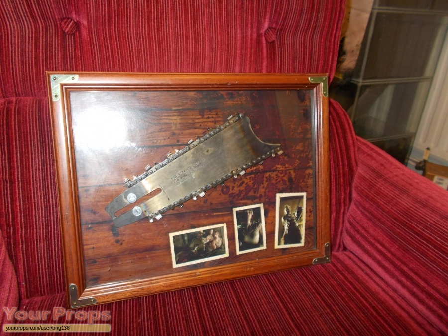 The Texas Chainsaw Massacre original movie prop weapon