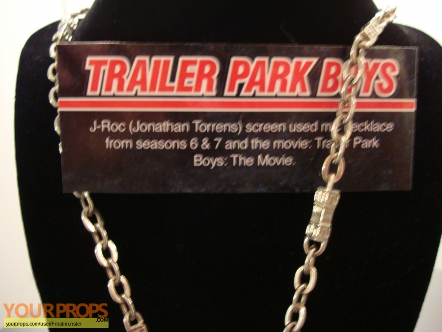 Trailer Park Boys original movie prop