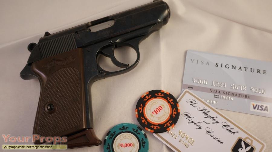 James Bond  Quantum of Solace replica movie prop weapon