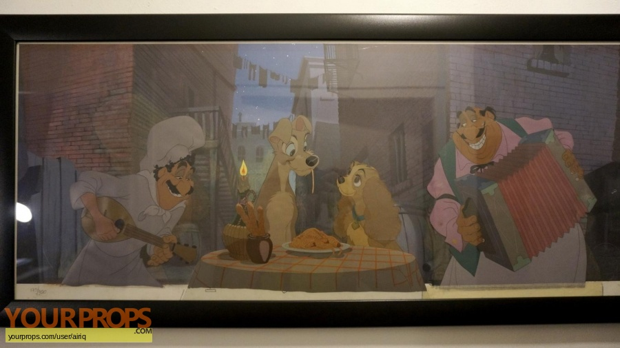 Lady and the Tramp original production material
