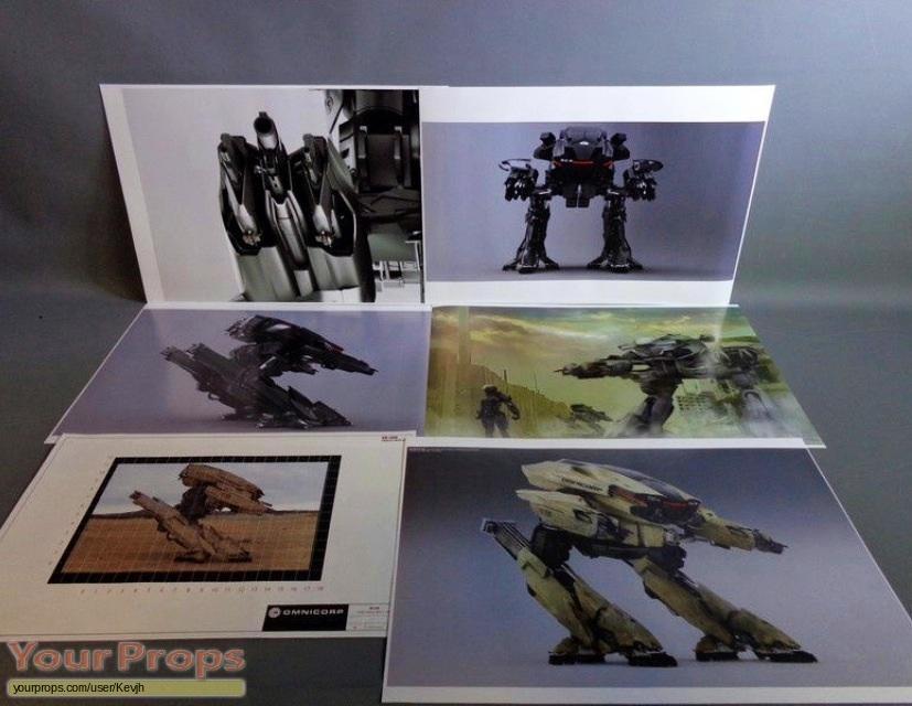 Robocop original production material