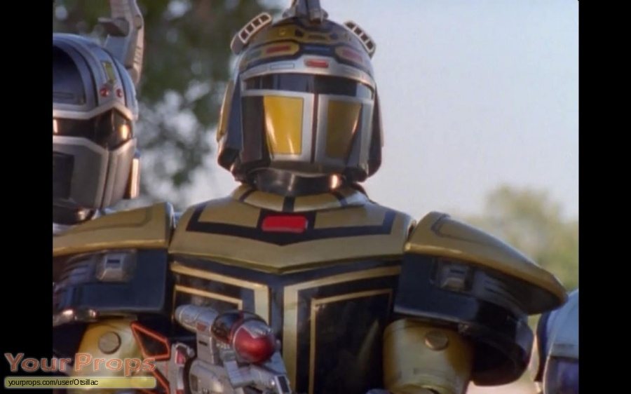 Beetleborgs Metallix original movie prop