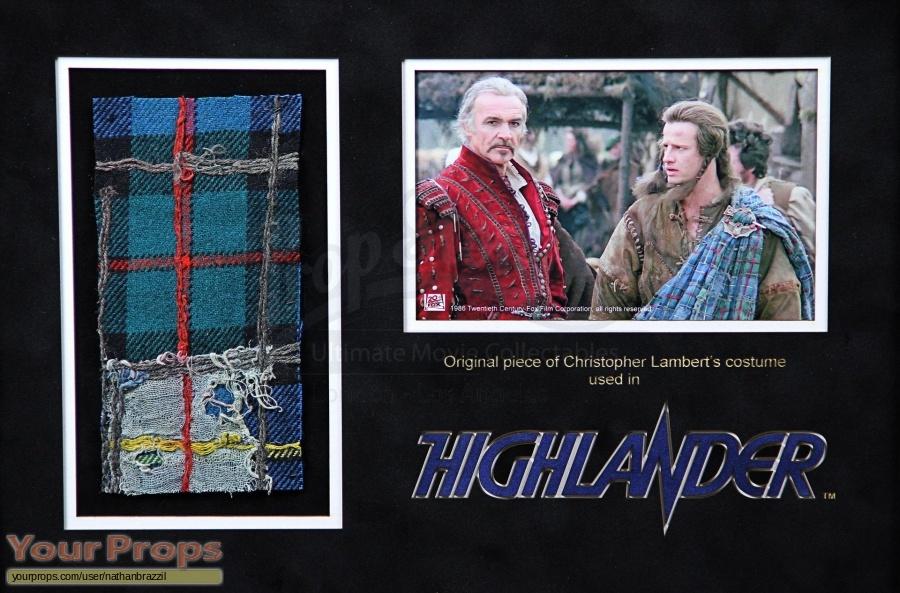 Highlander swatch   fragment movie costume