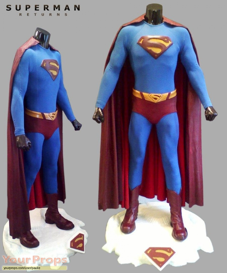 Superman Returns original movie prop