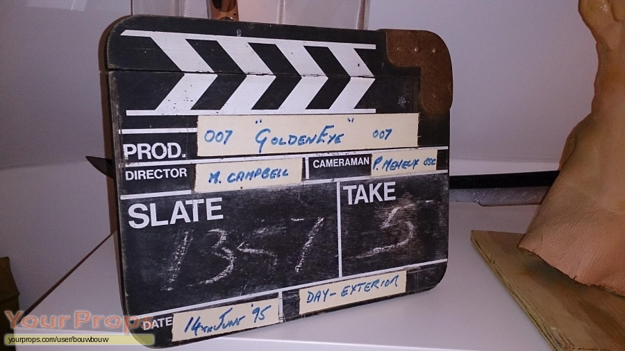 James Bond  Goldeneye original film-crew items