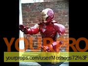 Iron Man 2 made from scratch movie prop