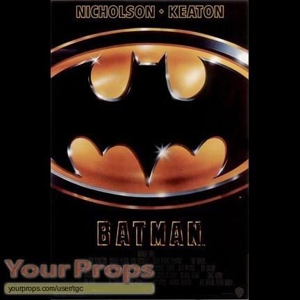 Batman original movie costume