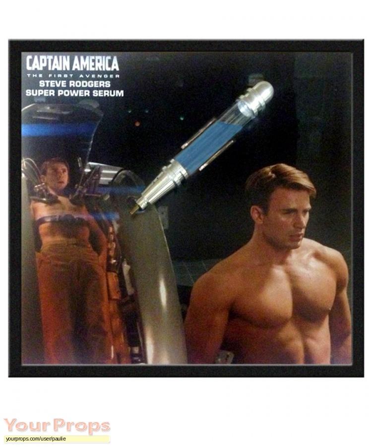 Captain America  The First Avenger original movie prop