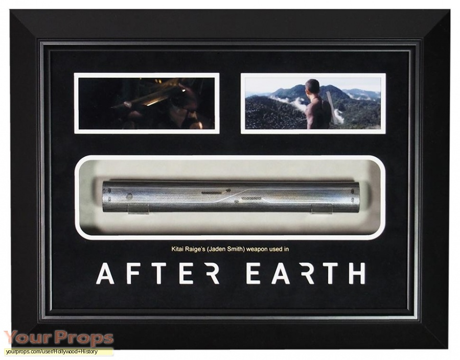After Earth original movie prop