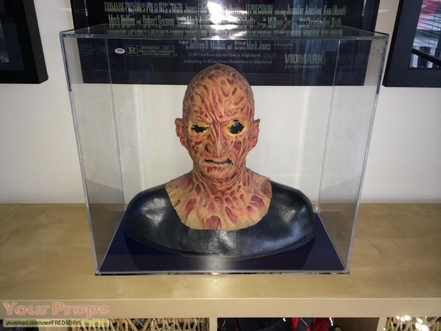 Freddy vs  Jason original make-up   prosthetics