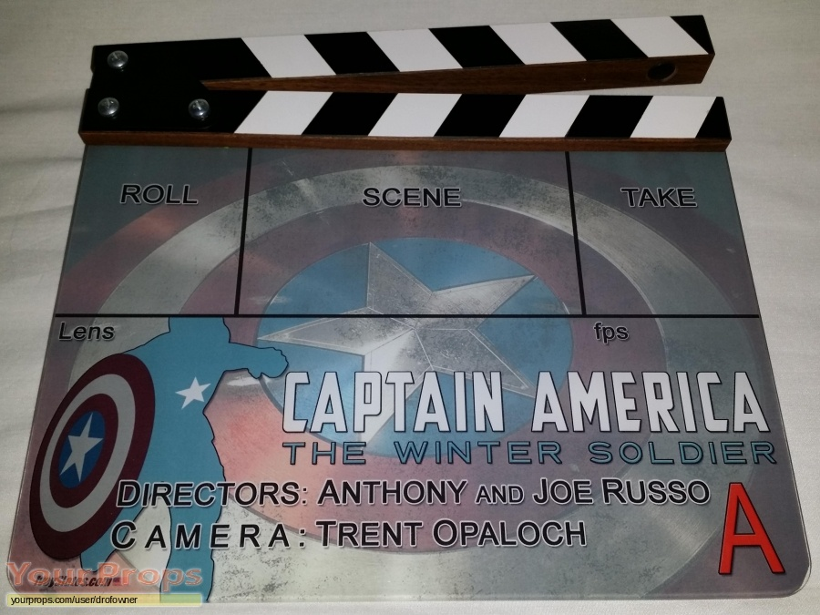 Captain America  The Winter Soldier original production material