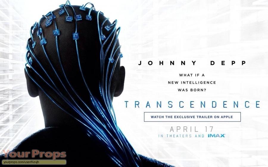 Transcendence original movie prop