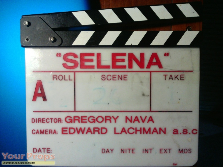Selena original film-crew items
