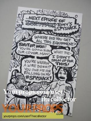 Survivor Cagayan original production artwork