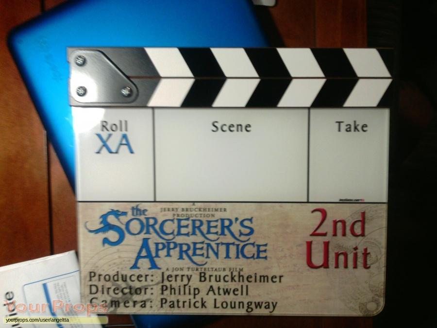 The Sorcerers Apprentice original film-crew items