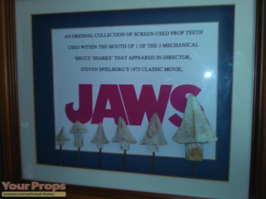 Jaws original make-up   prosthetics