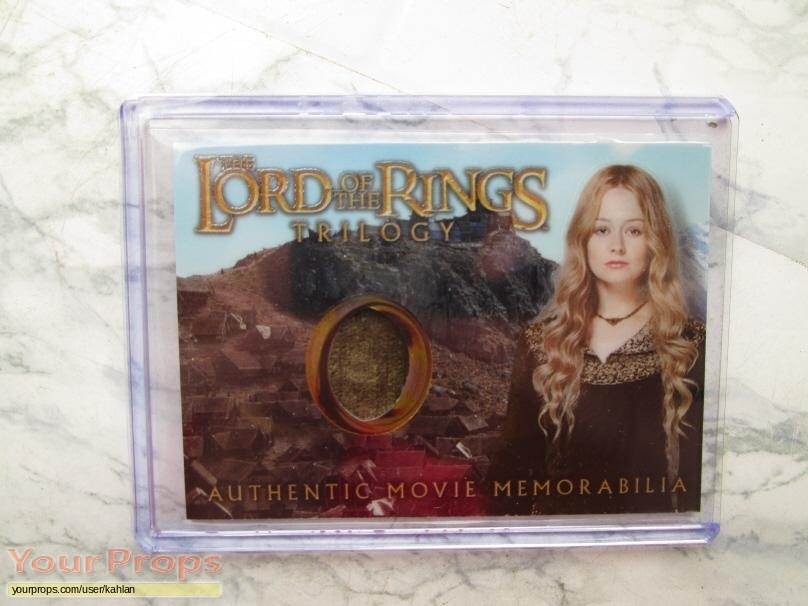 Lord of The Rings  The Two Towers swatch   fragment movie costume