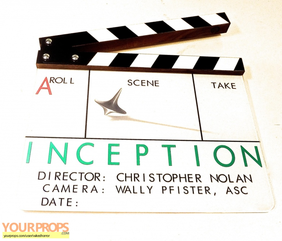 Inception original production material