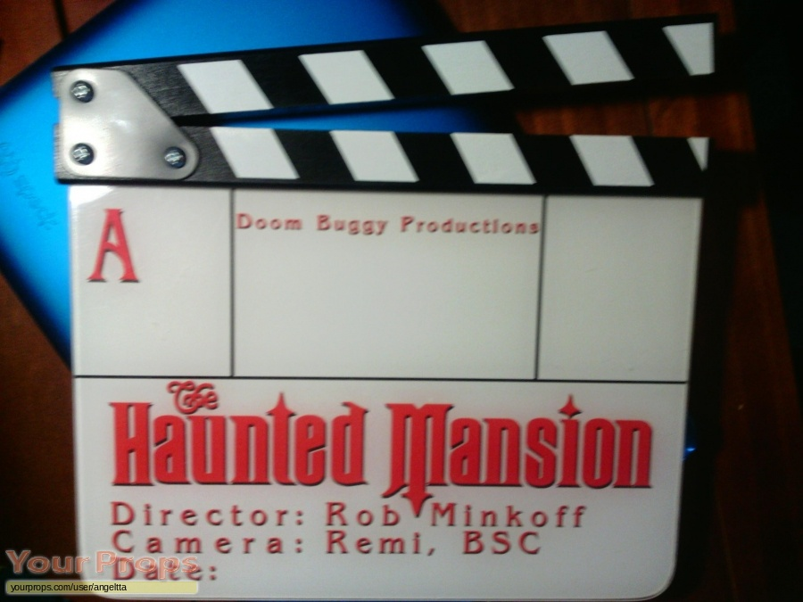 The Haunted Mansion original production material