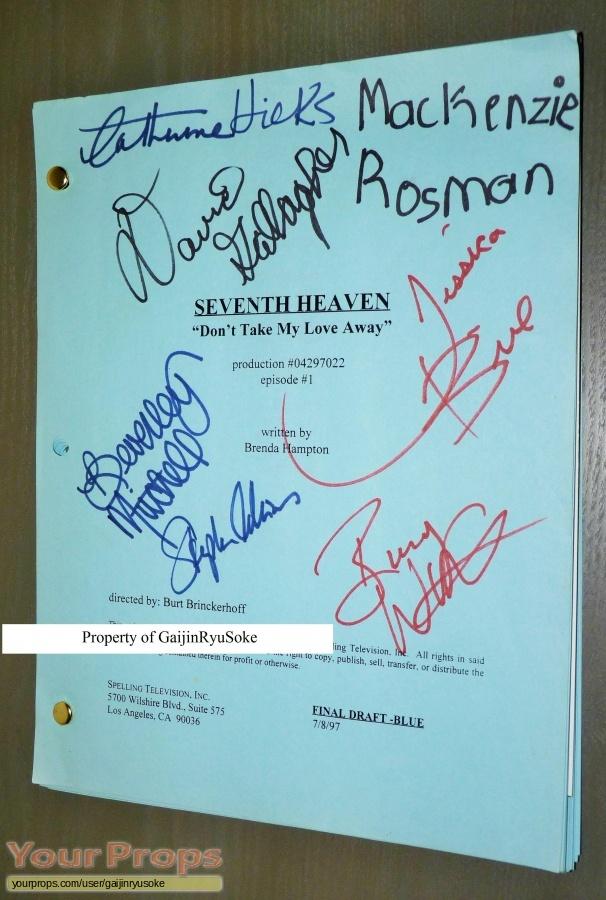 7th Heaven original production material