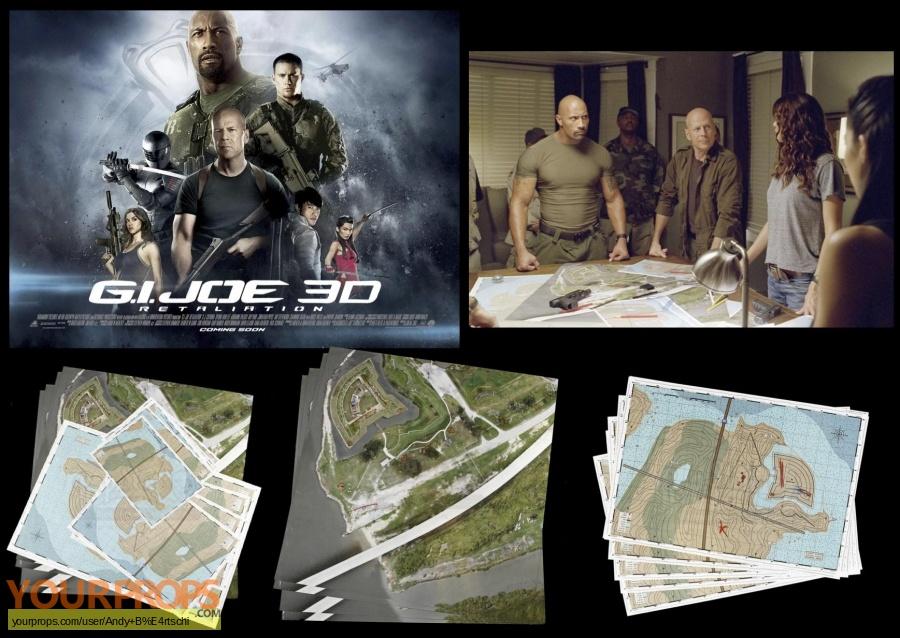 Joe: Retaliation, General Joe Colton (Bruce Willis) Maps