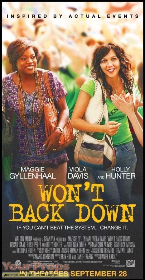 Wont Back Down original movie costume