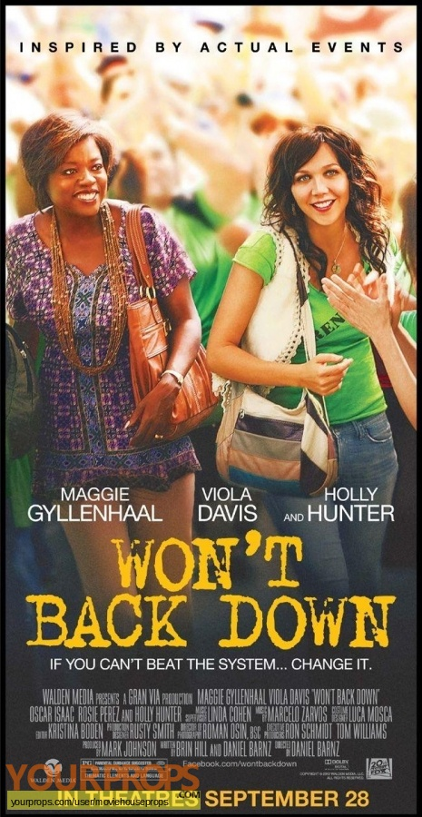 Wont Back Down original movie costume