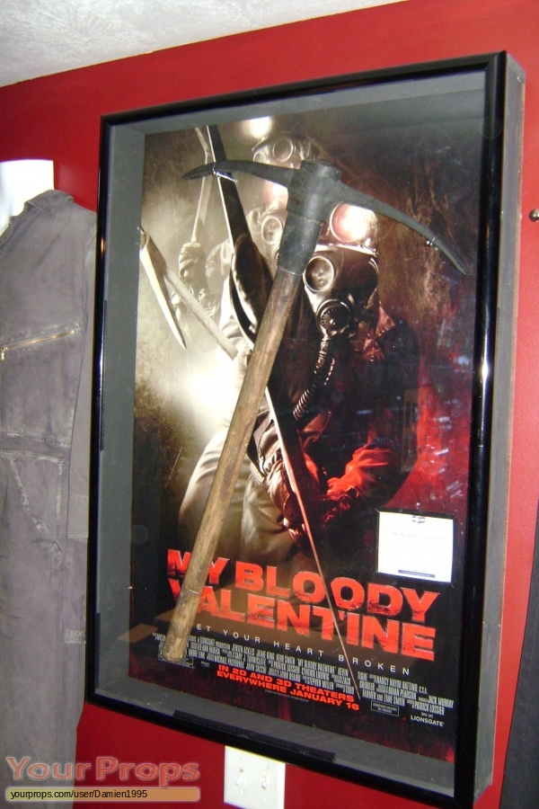 My Bloody Valentine original movie prop