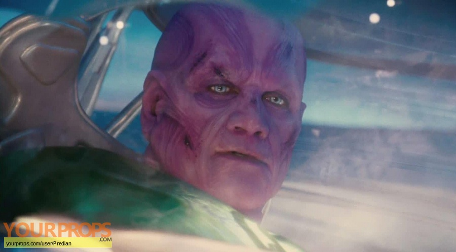 Green Lantern original make-up   prosthetics