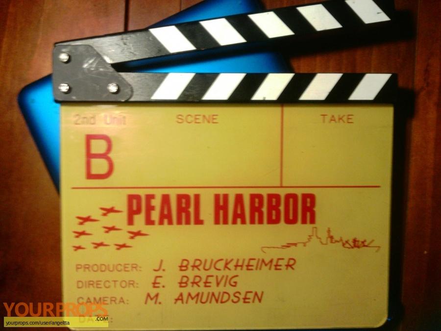 Pearl Harbor original production material