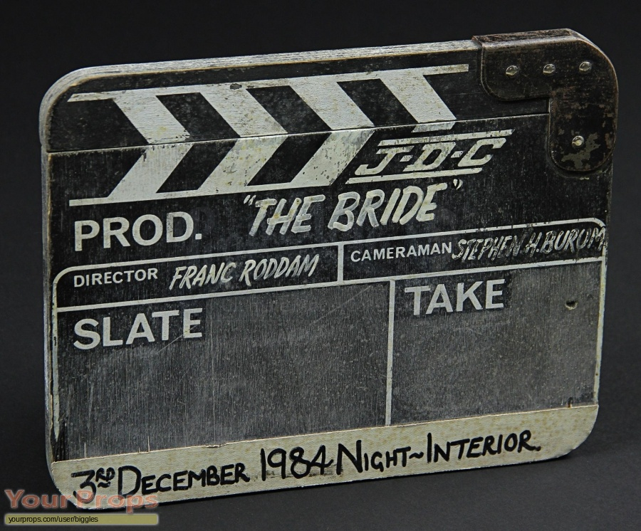 The Bride original production material