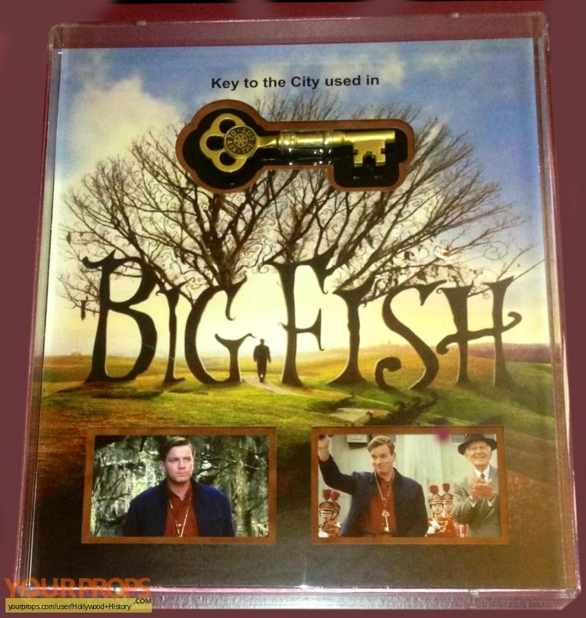 Big Fish original movie prop