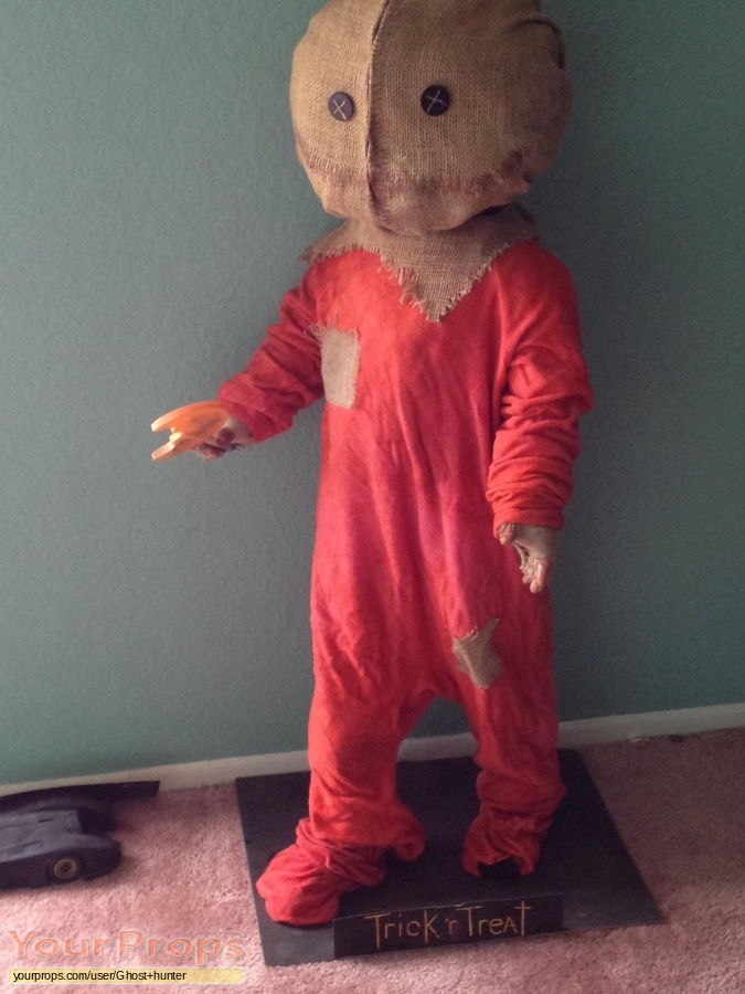Trick r Treat made from scratch movie prop