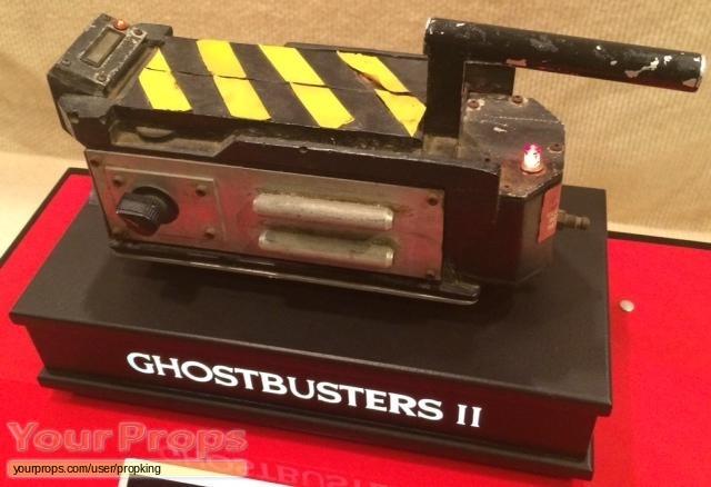 Ghostbusters 2 original movie prop